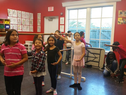 Grace, style and discipline are all traits aspiring ballerinas learn in dance classes at the John & Marge Bolton Club in Port Salerno.