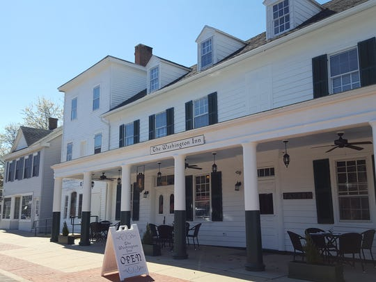 The Washington Inn and Tavern is located on Somerset