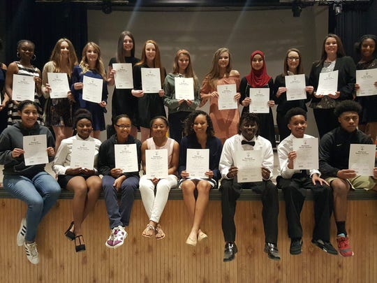 The OHS National Honor Society inducted its newest members Friday.