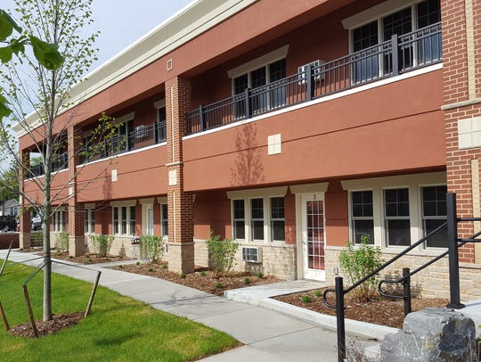 City View Apartments occupy the former Stahmer Clinic