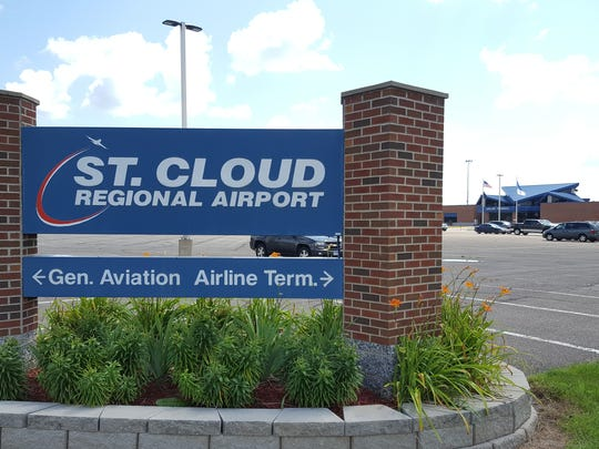 The St. Cloud Regional Airport, shown on Thursday, July 27, has commercial flights and is home to corporate airplanes and other general aviation.
