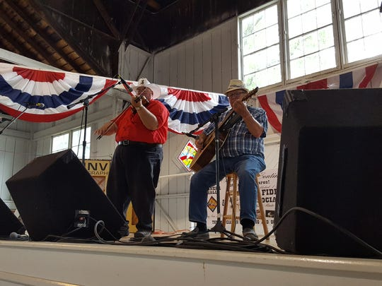 Nine-time Fiddler's Contest winner David Bellegente. He was named runner-up this year.