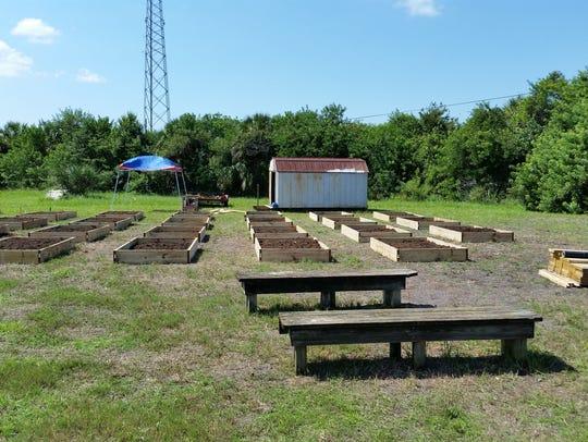 Community garden in Cocoa.