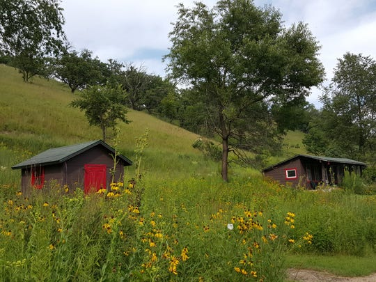 Only two buildings stand on the 140-acre Pleasant Valley Conservancy in Black Earth.