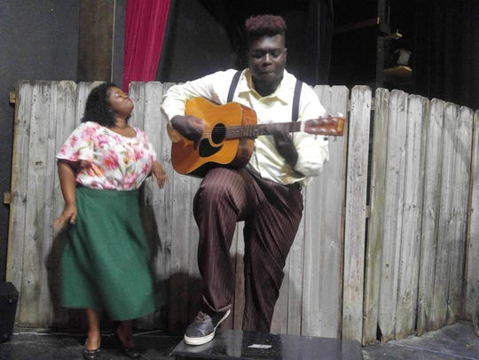 "A scene from Theatre Conspiracy's ""Seven Guitars"""