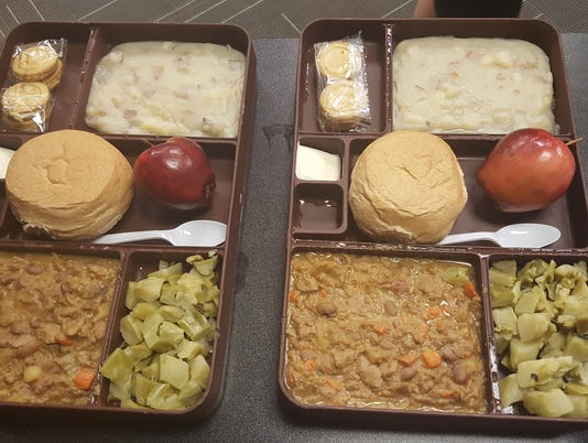 MCSO Inmate meals