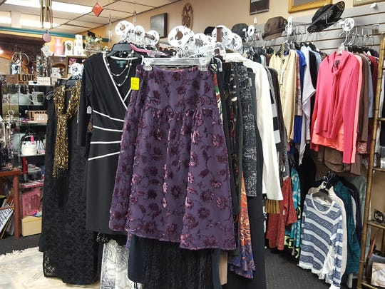 Sunshine Gift & Consignment's inventory includes new and used items including antiques, clothing, jewelry, accessories and household items.