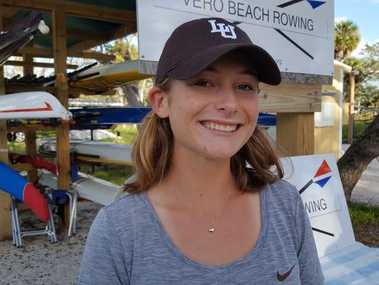 Stella Buckley, Vero Beach Rowing Club and Vero Beach