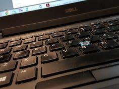 Drat It | Working on a desktop computer? How retro