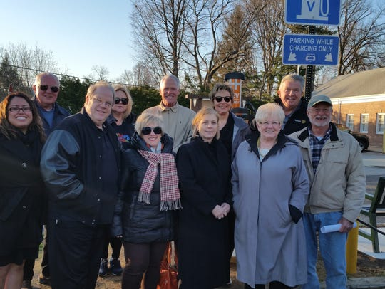Members of the Denville Rotary Club at the Electric