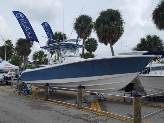 See the 2018 Edgewater 320 CC offered by Seagate Marine Sales of Stuart at the Stuart Boat Show.