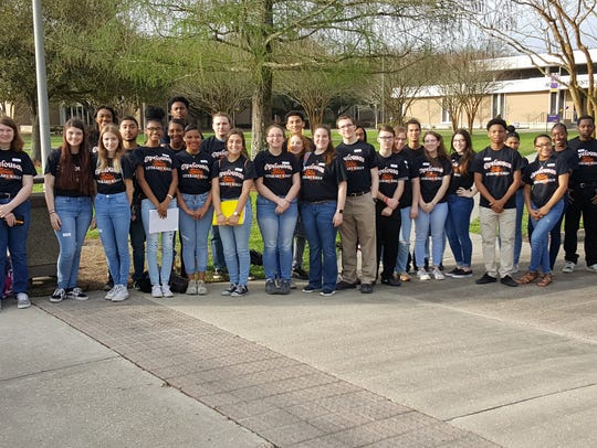 On Saturday, 31students from Opelousas High School