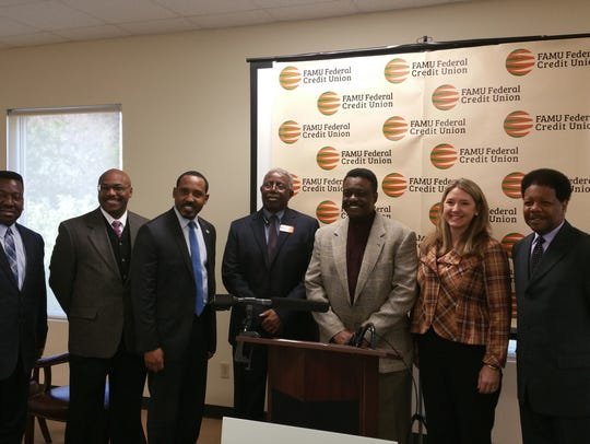 from left to right:  Sherwood Brown, FAMU Federal Credit