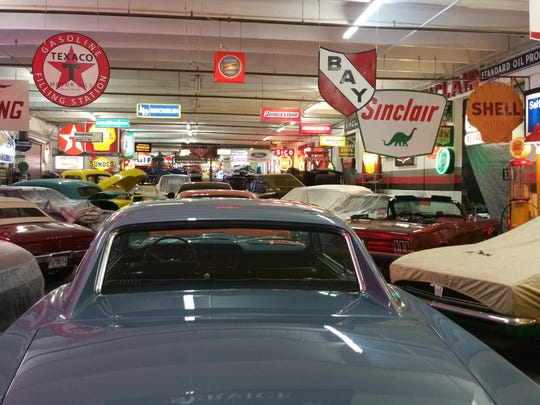 C.A.R.S.' 33,000-square foot facility includes one of the country's largest car, gas, oil and miscellaneous automotive memorabilia collections.
