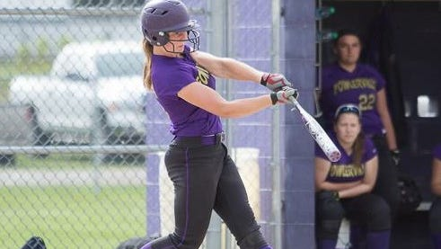 Sarah Matlock went 3-for-4 and scored Fowlerville's winning run in a game-one, 5-4, victory over Portland, allowing the Glads to split a doubleheader with the reigning CAAC White champ.