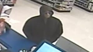 Clarksville Police are looking for this man accused of robbing a pharmacy.