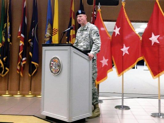 Brig. Gen. Terry McKenrick took command of the Brigade Modernization Command, an organization that helps to spearhead Army modernization efforts.