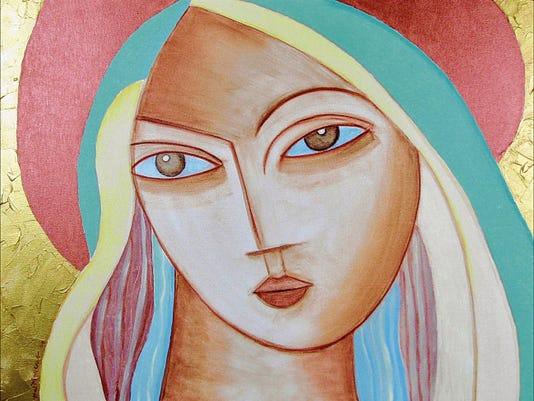 """""""Hija Del Sol"""" (2006) by Hal Marcus."""