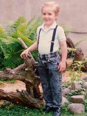 Derrick Robie, 4, of Savona Steuben County.