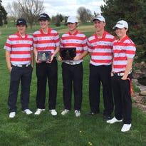 Lucas Turnbull of Nixa won the 2016 Class 4 District 6 boys golf championship.