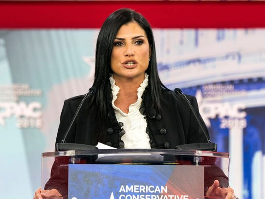 NRA spokesperson Dana Loesch speaks at the 45th annual