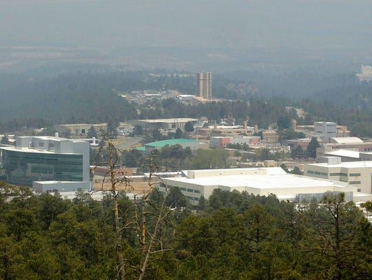 This June 29, 2011 file photo shows the Los Alamos
