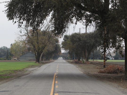 Sherry Papini was found Thanksgiving morning in 2016 near the intersection of County Road 17 and Interstate 5 in Yolo County. This is County Road 17 looking east toward Interstate 5.