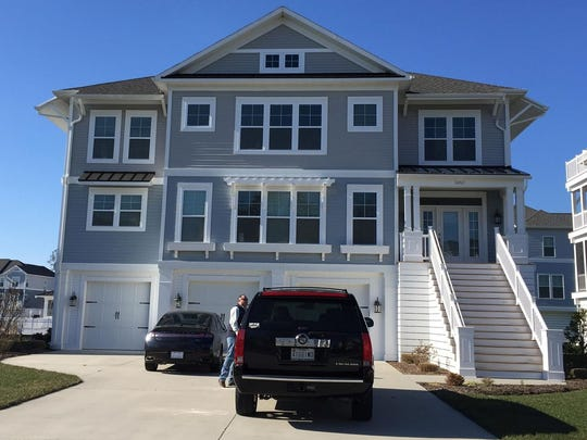 Brian and Kate Carey purchased this home in north Bethany Beach in 2016 as their full-time residence.