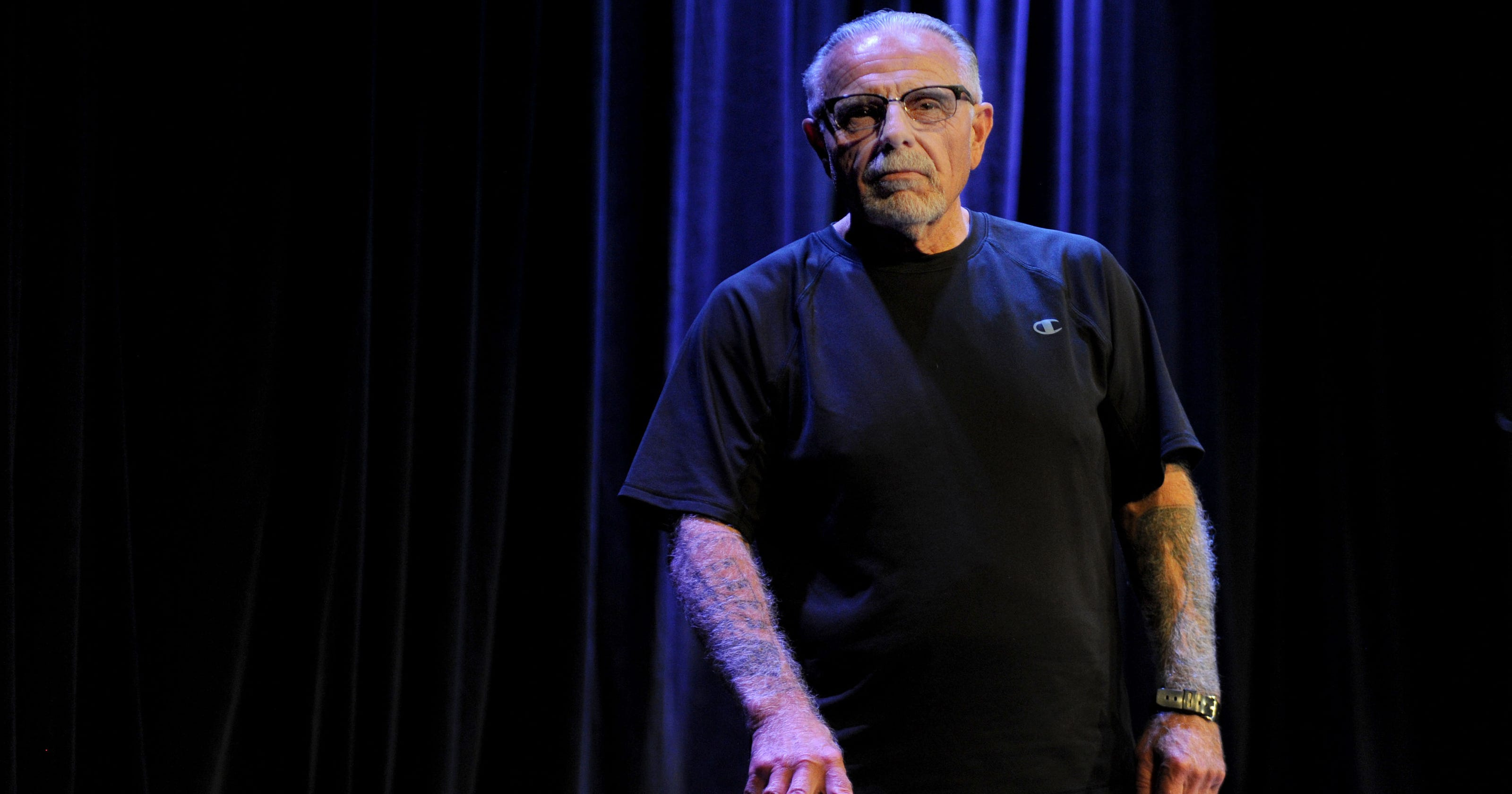 Ex-Hells Angels leader shares his life story at the Rubicon