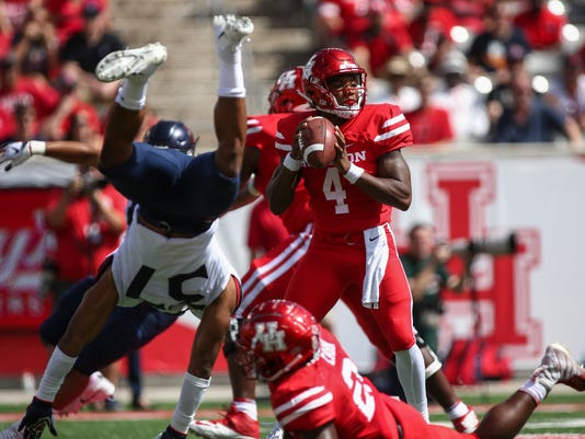 USP NCAA FOOTBALL: ARIZONA AT HOUSTON S FBC HOU ARI USA TX