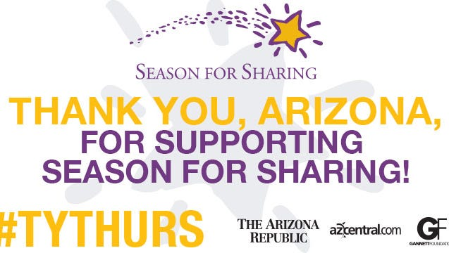 #TYTHURS Season for Sharing this year is awarding $2.4M in grants to 159 local non profits.