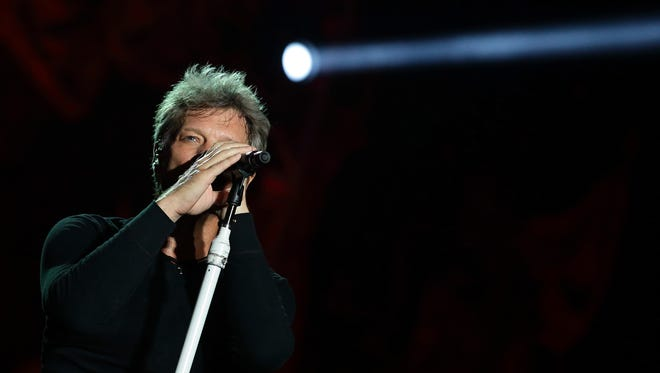 Jon Bon Jovi September 20 in Singapore.