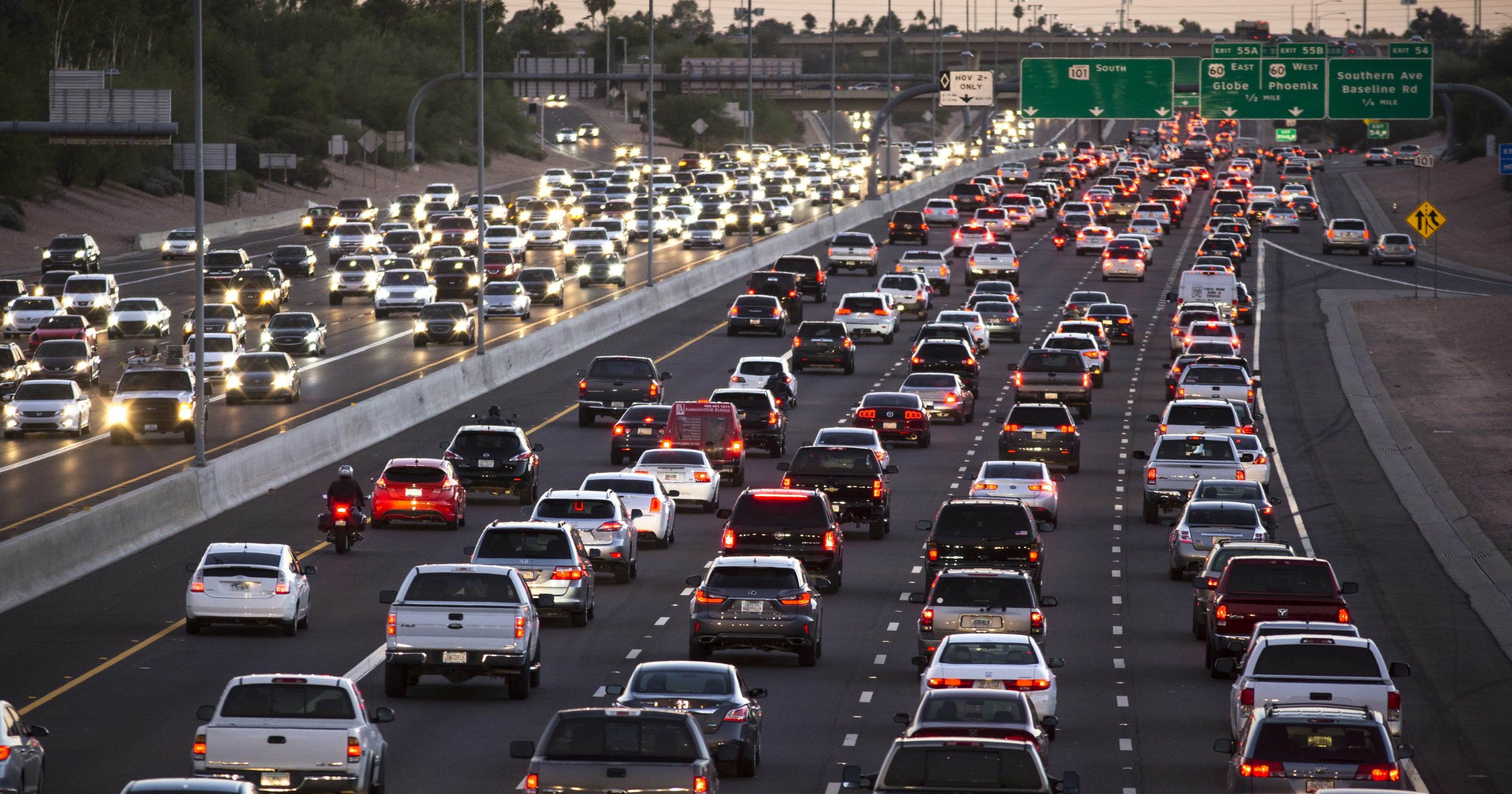 Traffic Map Phoenix Az.Phoenix Area Weekend Traffic Closures Delays Detours And More