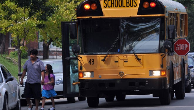 Richmond Community Schools plans to replace 35 buses over the next five years.