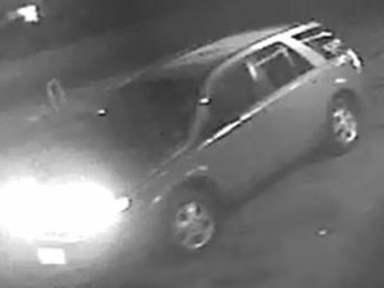 Police are looking for this older-model SUV in connection with recent shootings in Camden.