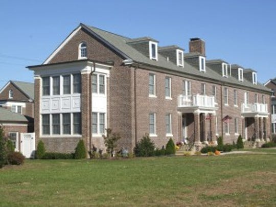 Officer Housing buildings located within the Fort Monmouth