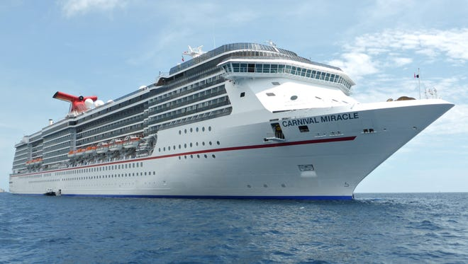 The Carnival Miracle, built in 2004, is the fourth in Carnival Cruise Line's four-member Spirit Class platform, which also includes the Carnival Spirit and Carnival Pride (both 2001) and Carnival Legend (2002).
