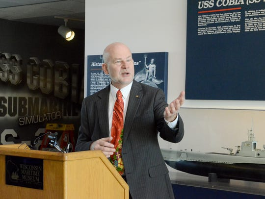 Rolf Johnson, CEO Wisconsin Maritime Museum, talks