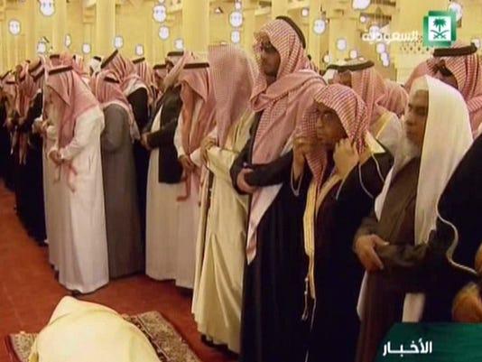 King Adullah Saudi Arabia