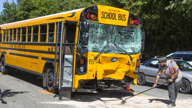 A bill that would require school buses to have seat belts is being considered by lawmakers in Washington, one of more than a dozen states where school seat belt measures are on the legislative agenda this year. Senate Bill 5054 would mandate that all public and private school buses purchased after the bill takes effect have a safety belt for each rider.