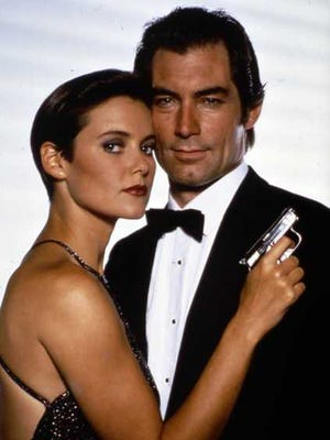 """Carey Lowell and Timothy Dalton starred together in the 1989 film """"Licence to Kill."""""""