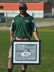 Parkside lacrosse coach Jeremy Michalski won his 200th game on Wednesday against Wi-Hi.