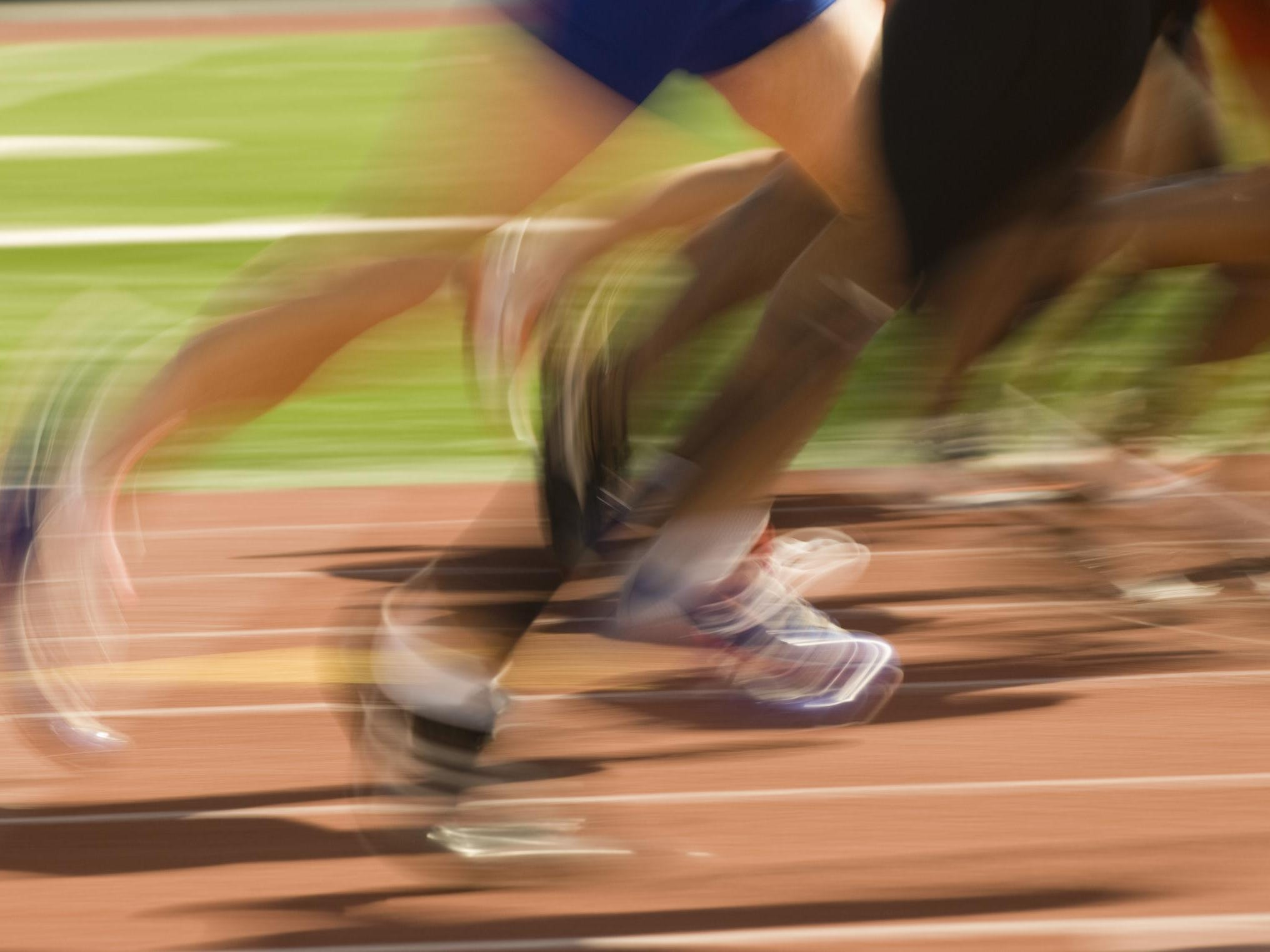 Track and field.
