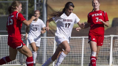 ASU soccer hopes to have 2012 and '13 leading scorer Cali Farquharson (17) back from a foot injury for road games against Illinois and Loyola Chicago.