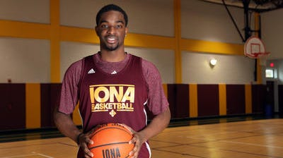 Sean Armand and the Iona men's basketball team earned their 10th straight victory, sixth in a row on the road, with an 80-77 win over Rider on Friday night.
