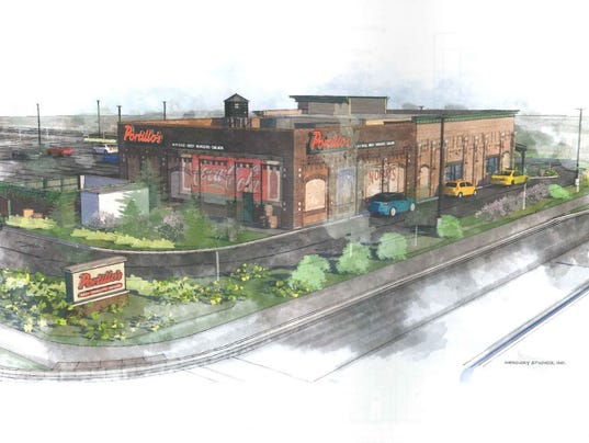 Proposed Portillo's in Greenfield