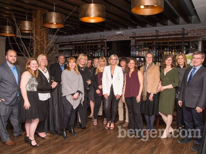 All of the guests attending the Interior Design Fundraiser event (Photo by Tav Jinivizian)
