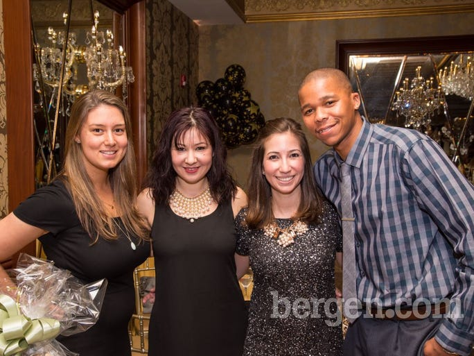 Ashley Brophy, Genda Zhupani, Karla Alvarez and Andre Teel (Photo by Tav Jinivizian)