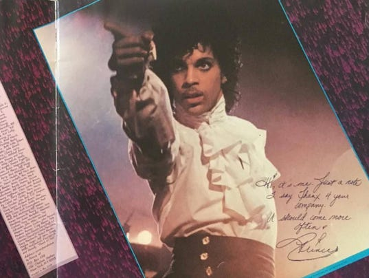 Prince concert book photo 2