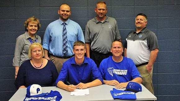 Polk County senior J.D. Edwards has signed to play baseball for Brevard College.